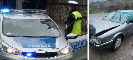 SZCZAWNE. Pijany kierowca spowodował kolizję. Miał ponad 2 promile (FOTO)