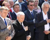 """Jarosław Kaczyński w Strachocinie. """"Nie może być tak, że stolica regionu bierze wszystko"""" (FILM, ZDJĘCIA)"""