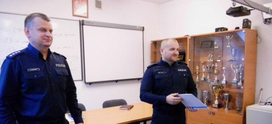 Podkomisarz Mariusz Zając I zastępcą komendanta sanockiej policji (FOTO)