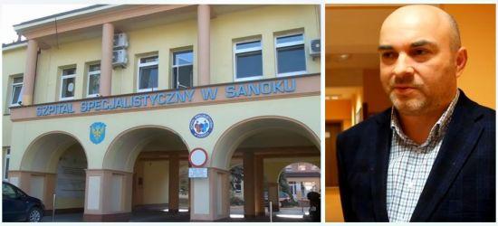 Od dziś Grzegorz Panek jest dyrektorem sanockiego szpitala