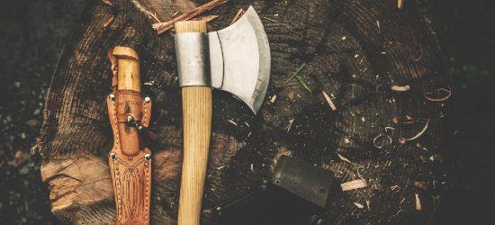 REGION. 30-latek kradł siekiery i noże. Grozi mu 5 lat więzienia