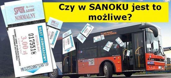 Komunikacja miejska za 1 zł dziennie. Czy to możliwe w Sanoku? (ZDJĘCIA)