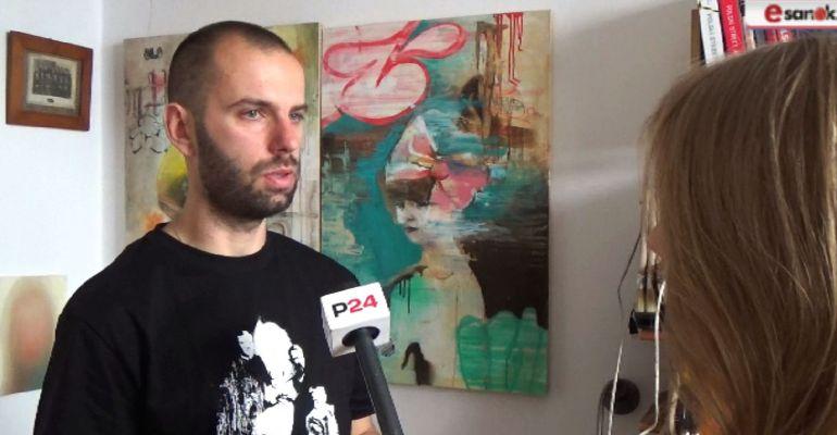 Portrety na stodołach i głowa pełna pomysłów. Wywiad z Arkadiuszem Andrejkowem (VIDEO)