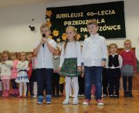Urocze występy przedszkolaków, dużo radości i wyjątkowa atmosfera. Przedszkole w Pakoszówce ma już 60 lat (ZDJĘCIA)