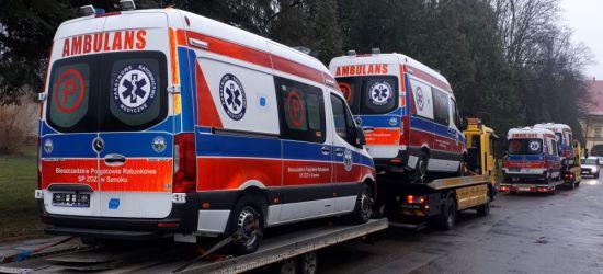 SANOK: Cztery nowe karetki w Bieszczadzkim Pogotowiu Ratunkowym (FOTO)