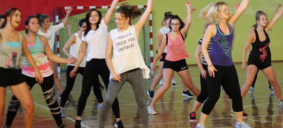 Muzyka, fitness i dziesiątki sanoczan chcących zmienić swoje życie (ZDJĘCIA)