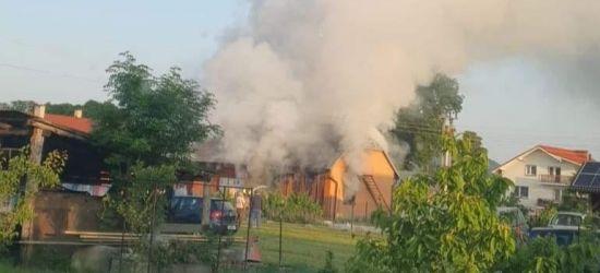 SANOCZEK. NIEBIESZCZANY. Pożary budynków gospodarczych (FOTO)