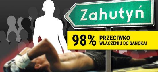 Zahutyń znokautował miasto. Konsultacje w gminie Zagórz zakończone