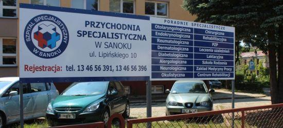 SANOK: Poradnie specjalistyczne przeniesione na Lipińskiego!