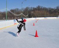 Pucharowa sztafeta sanockiego SOSW. Dobry występ na I wojewódzkich mistrzostwach w łyżwiarstwie szybkim (ZDJĘCIA)
