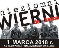 Niezłomni, wierni do końca. Narodowy Dzień Pamięci Żołnierzy Wyklętych