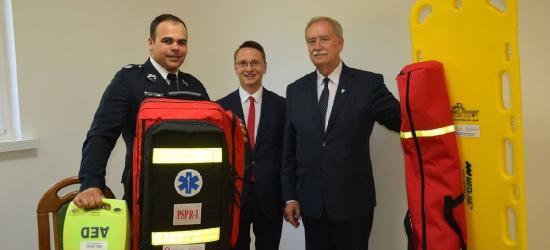 Nowoczesny sprzęt medyczny dla strażaków-ochotników z gminy Zarszyn (ZDJĘCIA)