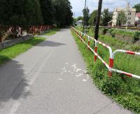 Z życia sanockiego rowerzysty (ZDJĘCIA)