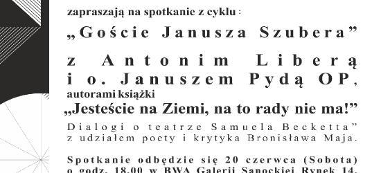 Goście Janusza Szubera w BWA Galerii Sanockiej