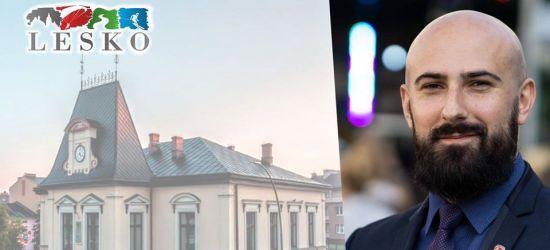 Dyżur on-line burmistrza Leska. Dziś od 11!
