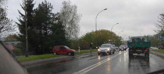 SANOK: Dwie kolizje na Przemyskiej w jednym momencie (FOTO)