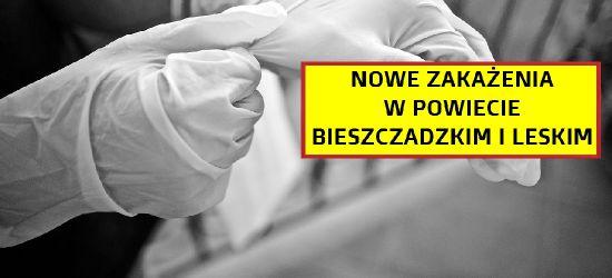 4 przypadki w powiecie bieszczadzkim. 2 w powiecie leskim