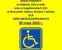 ZUS: Dni otwarte dla niepełnosprawnych