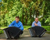 NASZ PATRONAT: Akordeonowy Duet Zimka&Ochwat zagra w sanockiej PSM (ZDJĘCIA)