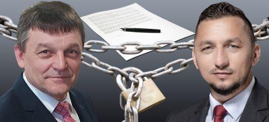 Radny Miklicz zarzucił burmistrzowi przekroczenie uprawnień w sprawie mostu na Białą Górę