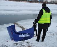 Student z Bieszczadów utonął w Wisłoku. Sekcja zwłok wykluczyła udział osób trzecich