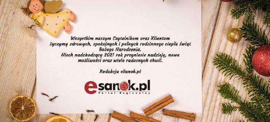 Wesołych Świąt życzy redakcja eSanok.pl