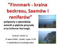 NASZ PATRONAT: Norweska kraina bezkresu, Saamów i reniferów. Opowieści na fotografiach