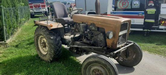 Okoliczności wypadku traktorzysty. Przejechało po nim tylne koło (ZDJĘCIA)