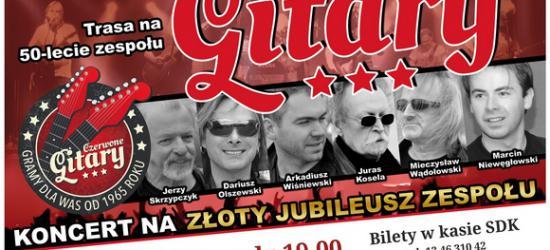 50-lecie Czerwonych Gitar w SDK. Zdobądź darmową wejściówkę