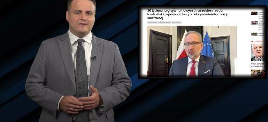 Minister choroby Niedzielski straszy Polaków. Dostaniesz 30 tys. zł kary!