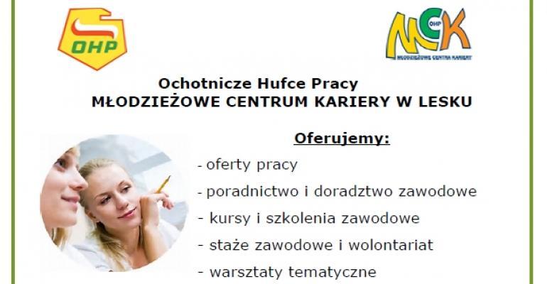 Zaplanuj swoją przyszłość z Młodzieżowym Centrum Kariery OHP w Lesku