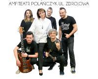 Izabela Trojanowska z zespołem na sobotni wieczór. Amfiteatr w Polańczyku czeka na melomanów (FILMY)