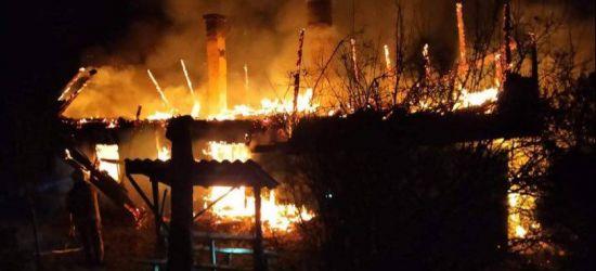 PODKARPACIE. Ogromny pożar. W budynku zwęglone zwłoki 35-latka (ZDJĘCIA)