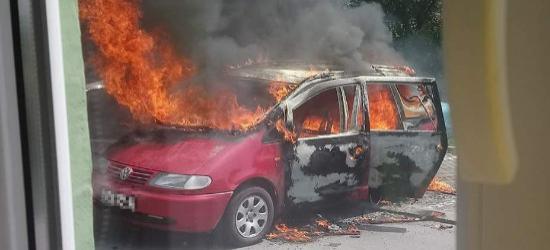 WRACAMY DO TEMATU: Zaprószenie ognia lub zwarcie instalacji możliwą przyczyną pożaru samochodu (ZDJĘCIA)