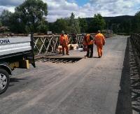 GMINA SANOK: Katastrofalny stan mostu w Dobrej. Przejadą tylko osobówki (ZDJĘCIA)
