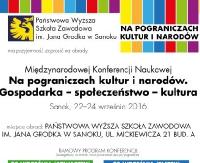 O pograniczach ekonomicznych, społecznych i kulturowych w PWSZ Sanok