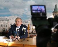 SANOK: Konferencja w sanockim magistracie. Bum inwestycyjny czy regres w mieście? (RETRANSMISJA, ZDJĘCIA)