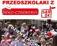 Przedszkolaki z Biało-Czerwoną