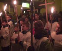 Siła wiary w Chrystusa. Tysiące sanoczan rozważało tajemnice Męki Pańskiej (FILM)