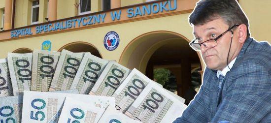 SZPITAL SANOK: 6 mln zł na minusie (VIDEO)