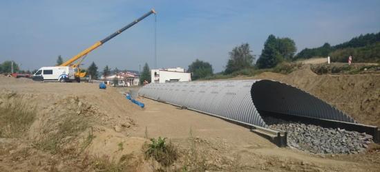 OBWODNICA SANOKA: Nowe zdjęcia z placu budowy (FOTO)