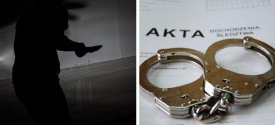 Zarzuty usiłowania zabójstwa dla nożownika. Napastnik jest w areszcie
