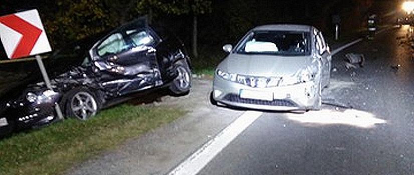 AKTUALIZACJA: W Zabłotcach DK 28 przez kilka godzin była zablokowana. W zdarzeniu drogowym ucierpiały dwie osoby (ZDJĘCIA)