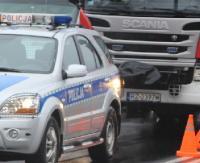 Droga w Boguchwale zablokowana. Nie żyje 47-letni kierowca