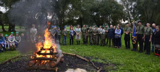 100 lat harcerstwa na Ziemi Sanockiej. Jubileuszowy zlot (FOTO)
