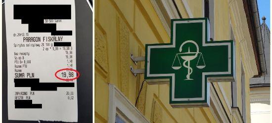 """SYGNAŁ OD INTERNAUTY: Spirytus salicylowy po 10 zł! """"Wczoraj kupiłam za 1,5 zł"""""""