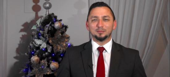 Życzenia Burmistrza Miasta Sanoka Tomasza Matuszewskiego (VIDEO)