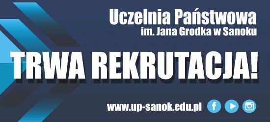 Trwa rekrutacja w Uczelni Państwowej w Sanoku!