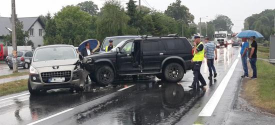 UWAGA. Wypadek w Nowosielcach. Droga w obu kierunkach zablokowana! (ZDJĘCIA)