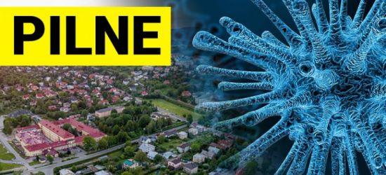 Nowe zakażenie koronawirusem w Sanoku. Mężczyzna w sile wieku